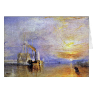 """The Last Voyage Of The Fighting Temeraire """""""" """" By Card"""
