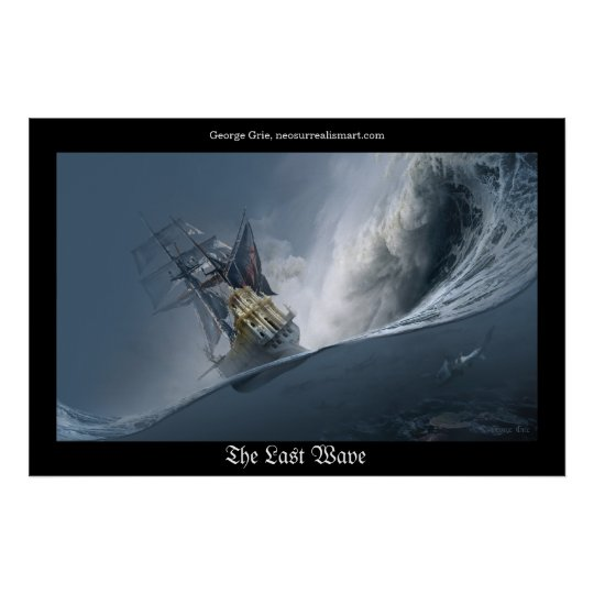 The Last Wave or Fighting the Giants Poster
