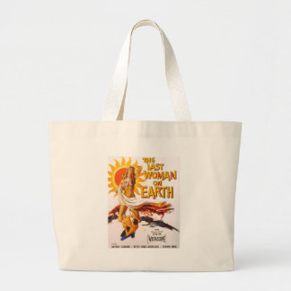 The Last Woman on Earth Large Tote Bag