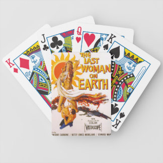 The Last Woman on Earth Poker Deck