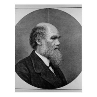 The Late Mr C. R. Darwin, FRS, LLD Postcard