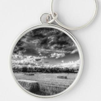 The Late Summer Farm Key Chain