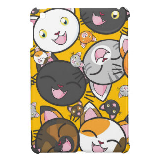 The laughing cats iPad mini cases