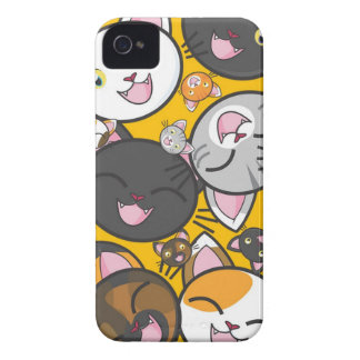 The laughing cats iPhone 4 cases