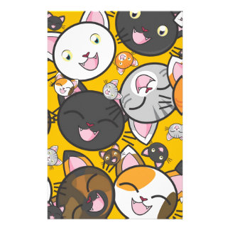 The laughing cats stationery