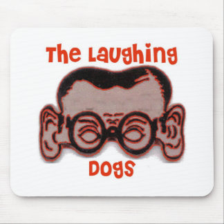 The Laughing Dogs Joe Head Mouse Pad