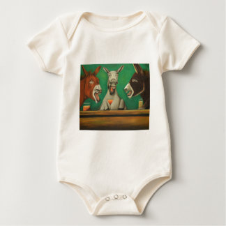 The Laughing Donkeys Baby Bodysuit