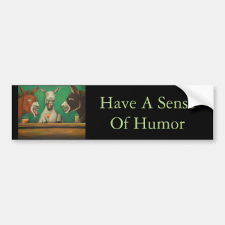 The Laughing Donkeys Bumper Sticker