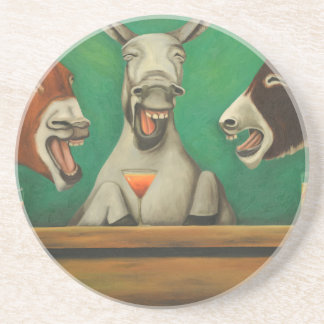 The Laughing Donkeys Coasters