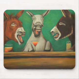 The Laughing Donkeys Mouse Pad