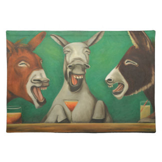 The Laughing Donkeys Place Mats