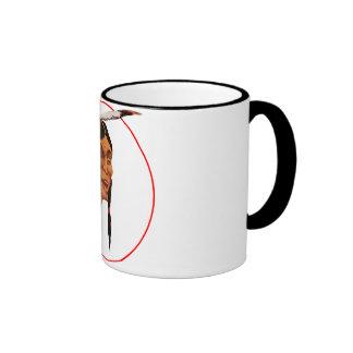 The Laughing Indian Ringer Coffee Mug