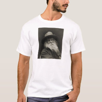 The Laughing Philosopher Poet Walt Whitman T-Shirt