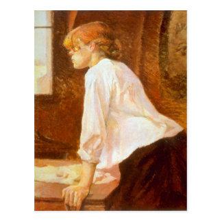 The Laundress by Toulouse-Lautrec Postcard