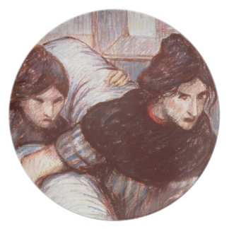 The Laundresses, 1898 (pastel on canvas) Plate