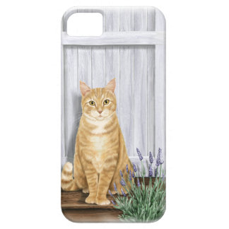 The Lavender Door Cat iPhone 5 Cover