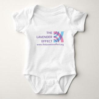The Lavender Effect Infant Crawler Baby Bodysuit