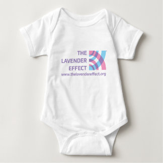 The Lavender Effect Infant Crawler T Shirt