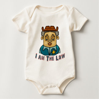 The Law Baby Bodysuit