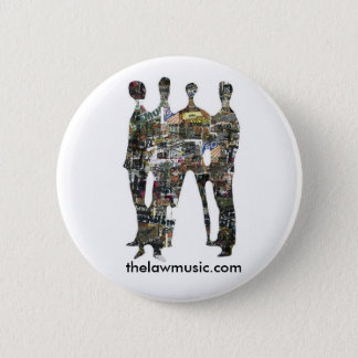 The Law - Silhouette - Badge 2 Inch Round Button