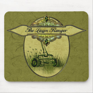 The Lawn Ranger Mouse Pad