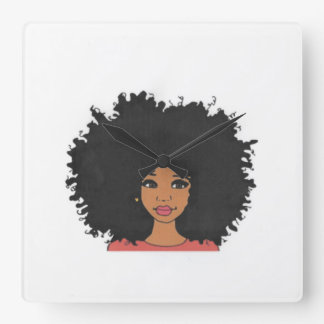 The Layla Collection Square Wall Clock