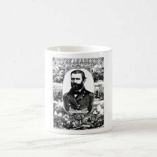 The Leader And His Battles -- Ulysses S. Grant Coffee Mug
