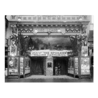 The Leader Theater, 1921 Postcard