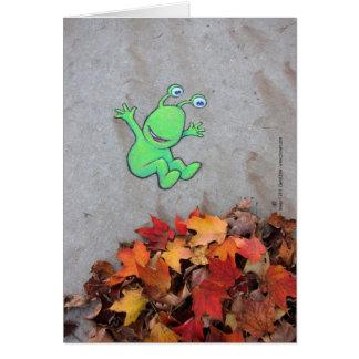 the leafpile bandit card