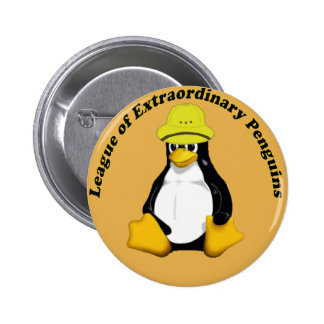 The League of Extraordinary Penguins 2 Inch Round Button