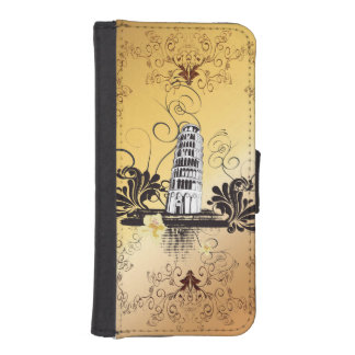 The leaning tower of Pisa iPhone SE/5/5s Wallet Case
