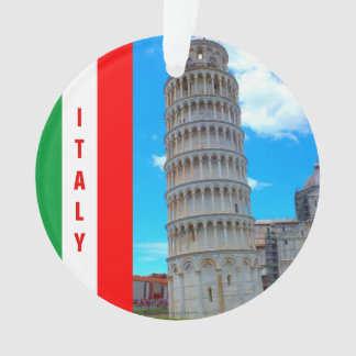 The Leaning Tower of Pisa, Italy and Pisan Cross