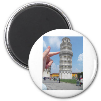 the leaning tower of Pisa Magnet