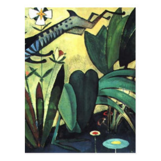 The leap of the rabbit by Amadeo de Souza-Cardoso Postcard
