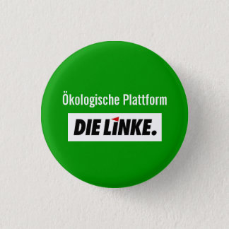 The-left ecological platform 1 inch round button
