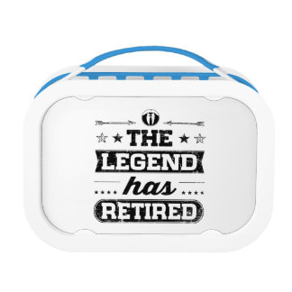 The Legend Has Retired Lunch Box