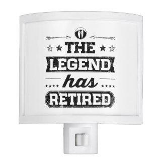 The Legend Has Retired Night Lights