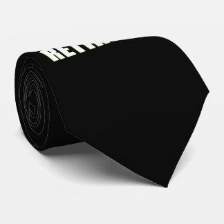 The Legend Has Retired Tie
