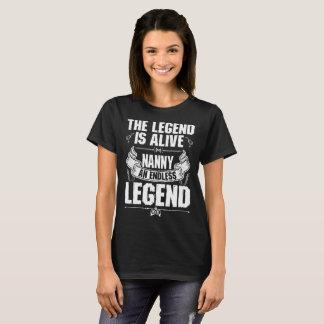 The Legend Is Alive Nanny Endless Legend Tshirt
