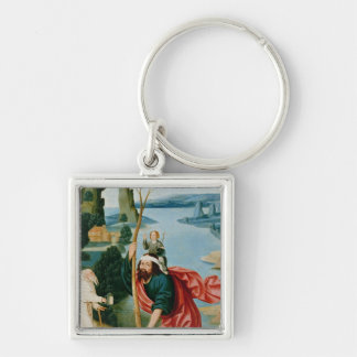 The Legend of St. Christopher Keychain