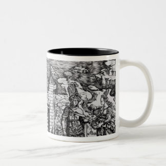 The Legend of Theseus Two-Tone Coffee Mug