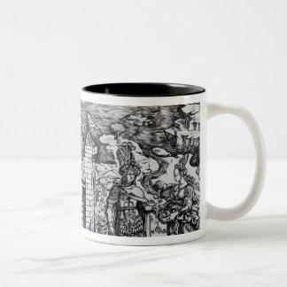 The Legend of Theseus Two-Tone Mug