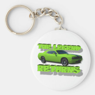 The Legend Returns Keychain