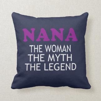 The Legendary NANA! Throw Pillow