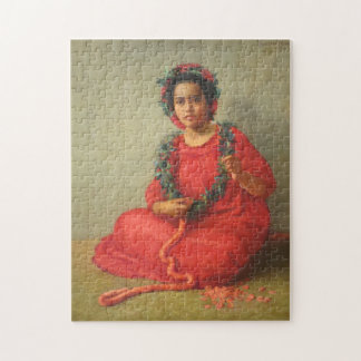 'The Lei Maker' - Theodore Wores Jigsaw Puzzle