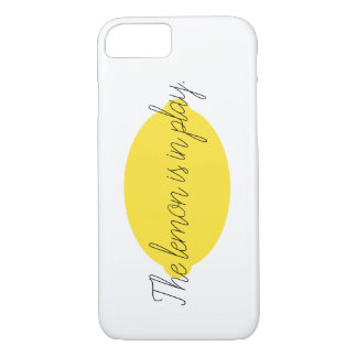 The Lemon Is In Play iPhone 8/7 Case