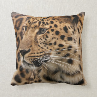 The Leopard Throw Pillow