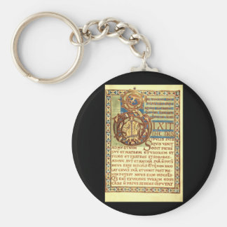 The Lesson of St. Wenceslaus_Art of Antiquity Basic Round Button Keychain