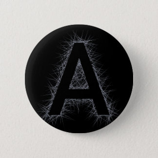 The Letter A 2 Inch Round Button