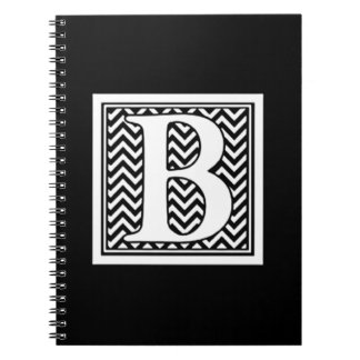 THE LETTER   *B *  MONOGRAMED NOTEBOOK